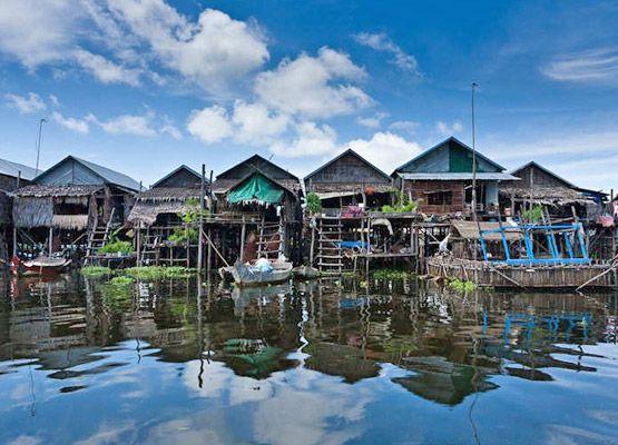 Odwiedź kraj, w którym żyje się na wodzie